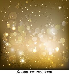 shimmering background - golden sparkling background with...