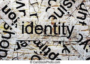 concepto, identidad
