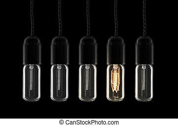Retro lightbulbs - Beautiful vintage style lightbulbs - one...