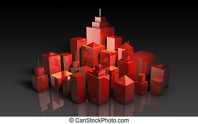 Prime Property Location Real Estate in 3d
