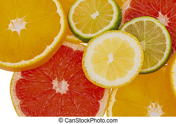 orange slices - slices of an orange. photo icon for healthy...