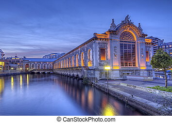 Batiment des Forces-Motrices, Geneva, Switzerland, HDR -...