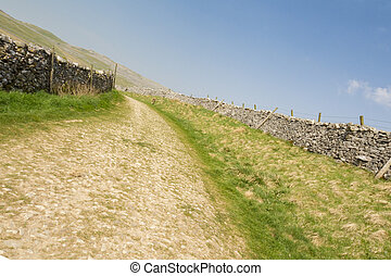roman road in the Yorkshire Dales National Park