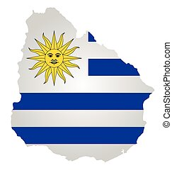 Uruguay Flag - Flag of the Eastern Republic of Uruguay...