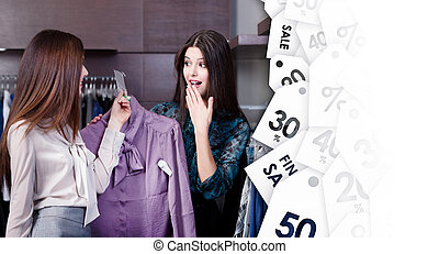 Friends like special clearance sale prices - Friends wonder...