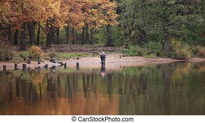 fly fishing  - Fishing on the fly Loop ready File