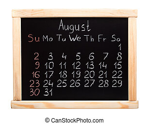 2015 year calendar August Week start on sunday - 2015 year...