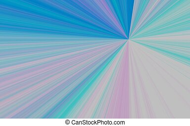 illustration of colorful pastel sunburst - digital high...