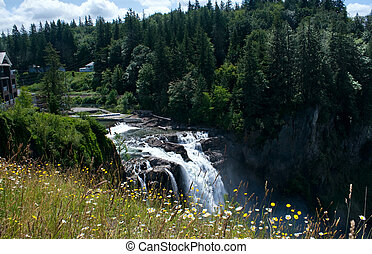 Snoqualmie Falls Hydroelectric Plant - The Snoqualmie Falls...