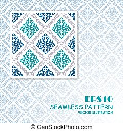 Seamless pattern can be used for wallpaper
