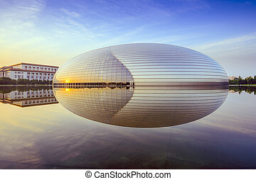 Beijing, China Operahouse - BEIJING, CHINA - JUNE 24, 2014:...