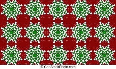 Frenetic Christmas Kaleidoscpe Loop - A frenetic, bombastic,...