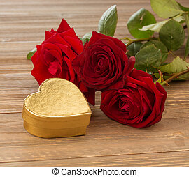 roses for valentine's day and mother's day - roses as a gift...