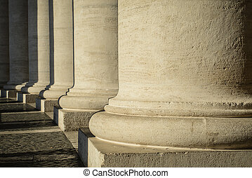 Pillars at the Vatican