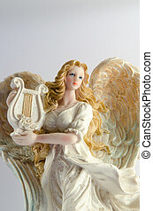 Christmas decor ceramic angel