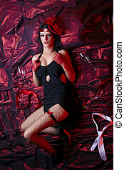 Cabaret Lady - Hot Flapper In Bed