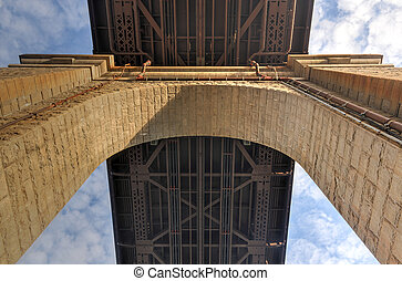 Roosevelt Island Bridge, New York - The Roosevelt Island...