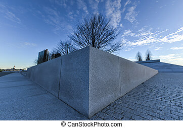 FDR Four Freedoms Park, New York - The Franklin D Roosevelt...