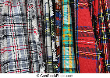 Fabric for Scottish Kilts