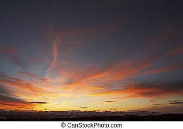 Skyscape on Navarra