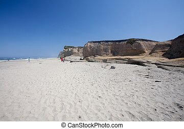 Pomponio State Beach is a beach located 125 miles 201 km...