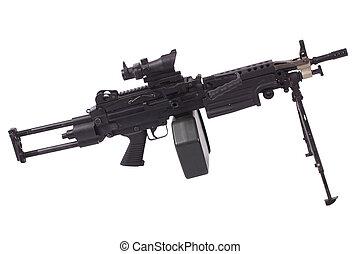 máquina, arma de fuego,