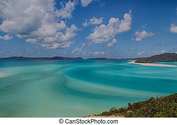 Whitehaven Beach - The swirling patterns of Whitehaven beach
