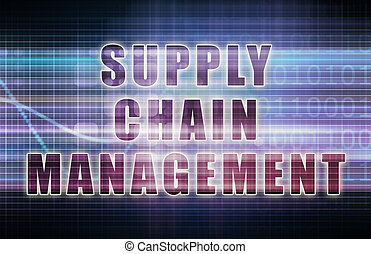 Supply Chain Management on a Business Chart