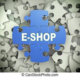 3d puzzle pieces - eshop