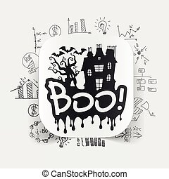 Drawing business formulas: boo