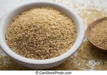 bulgur wheat groats