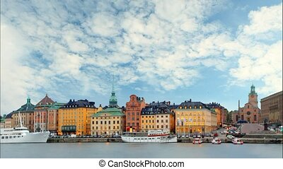 Stockholm - Old Town, Time lapse