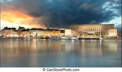 Stockholm Old Town, Sweiden - Time