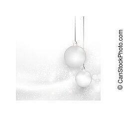 Christmas silver background with snowflake, easy all...