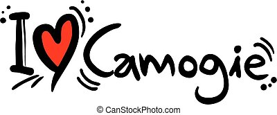 Camogie love - Creative design of camogie love