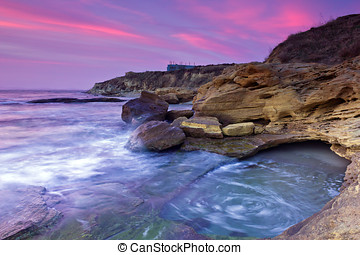 Rocky beach on Black sea, Bulgaria - Beautiful rocky beach...