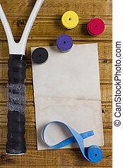 Repair set for tennis racket - Repair set for the handle of...