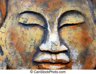 Oriental face - Creative design of Oriental face