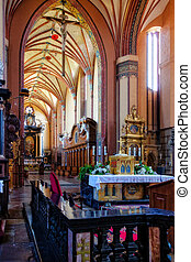 Church interior - The Archcathedral Basilica of the...