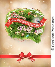 Christmas background. EPS 10 - Christmas background of...