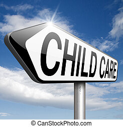 child care or daycare center sign