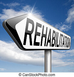 rehabilitation rehab for drugs alcohol addiction or sport...