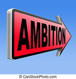 ambition think big dreams in personal and career reach your...