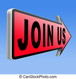 Join us sign - Join us now and register here. Become a...