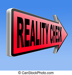 reality check back to basics up for real life events and...