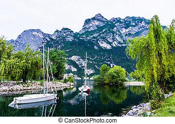 Riva del Garda, Lago di Garda ,Italy - Riva del Garda, Lago...