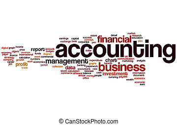Accounting word cloud