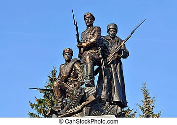 Monument to Heroes of First world war. Kaliningrad, Russia -...