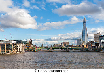 Beautiful cityscape of London