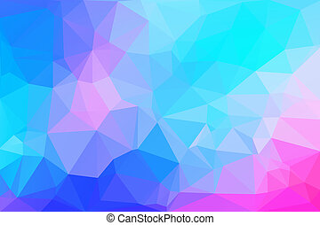 Triangle Abstract 4 - Colorful Low Polygon Random Triangle...